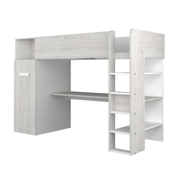Trasman Tarragona High Bed with Desk & Trundle Wardrobe