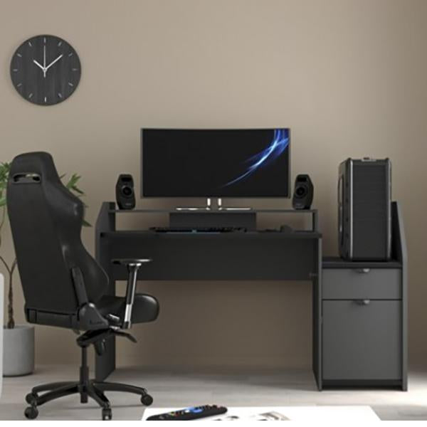 Parisot Midi Duo Gaming Desk Workstation
