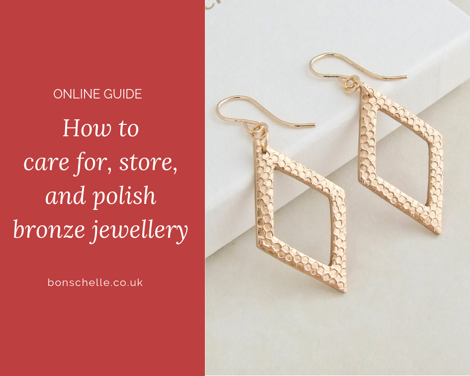How to clean, care for, and store bronze jewellery