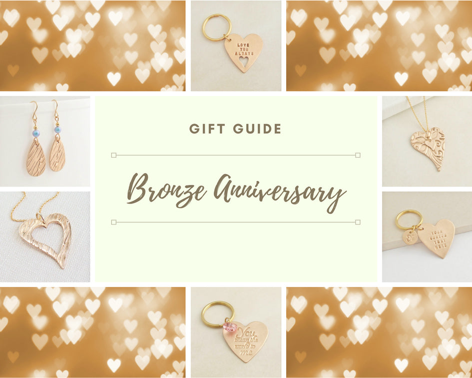 Bronze (8th/19th) Wedding Anniversary Gift Guide and History