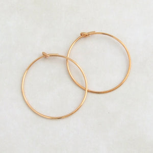 24K Gold plated hoop earwires 3