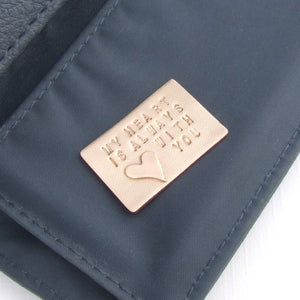 Bronze Metal Wallet or Purse Keepsake Insert Card 2