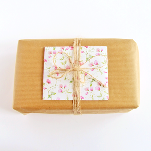 Handmade gift message envelope by Bonschelle