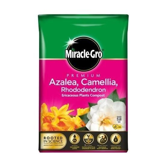 Miracle Gro Alzalea, Camellia & Rhododendron Ericaceous 40L