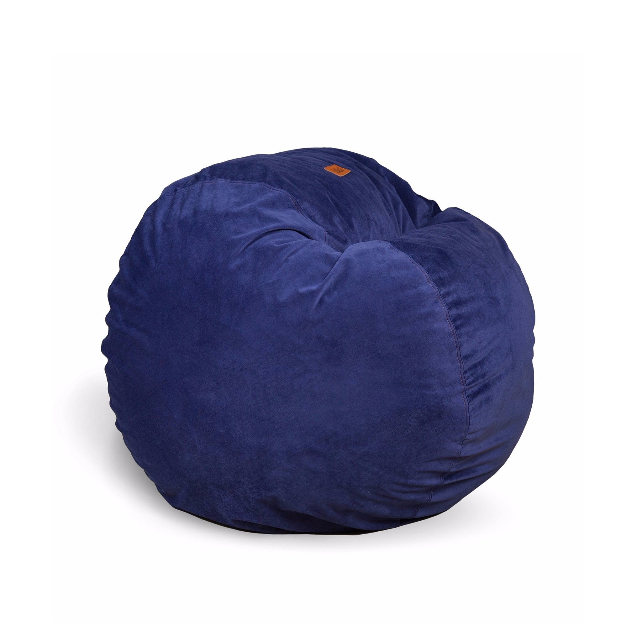 Remarkable Cordaroys Convertible Beanbags New Youth Micro Fur Navy Squirreltailoven Fun Painted Chair Ideas Images Squirreltailovenorg