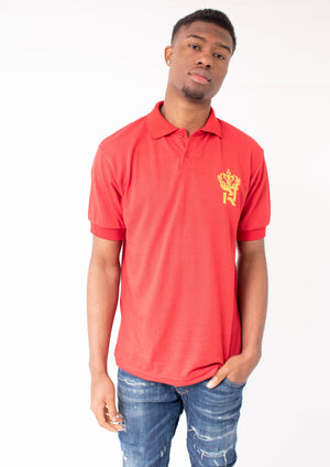 Red Royal Kings Polo T-Shirt-T-Shirt-BeastyEra