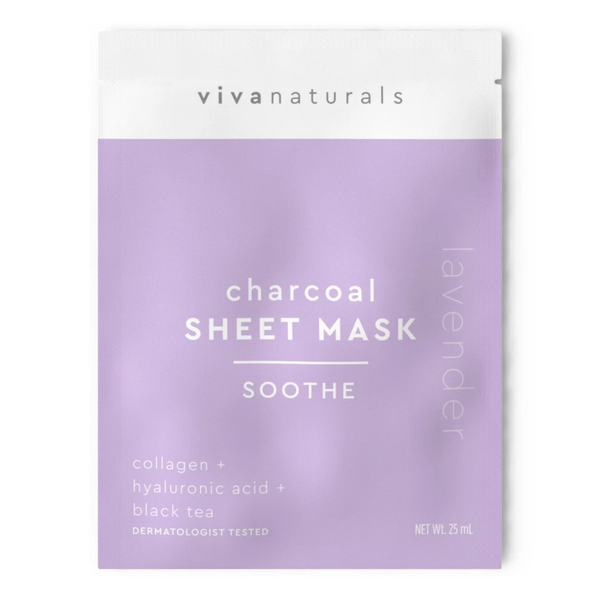 CHARCOAL SHEET MASK | SOOTHE