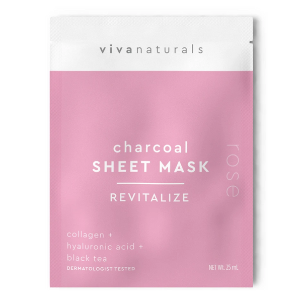 CHARCOAL SHEET MASK | REVITALIZE