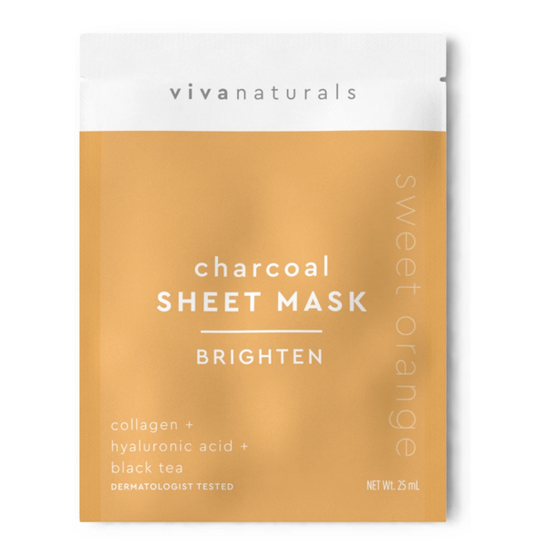 CHARCOAL SHEET MASK | BRIGHTEN