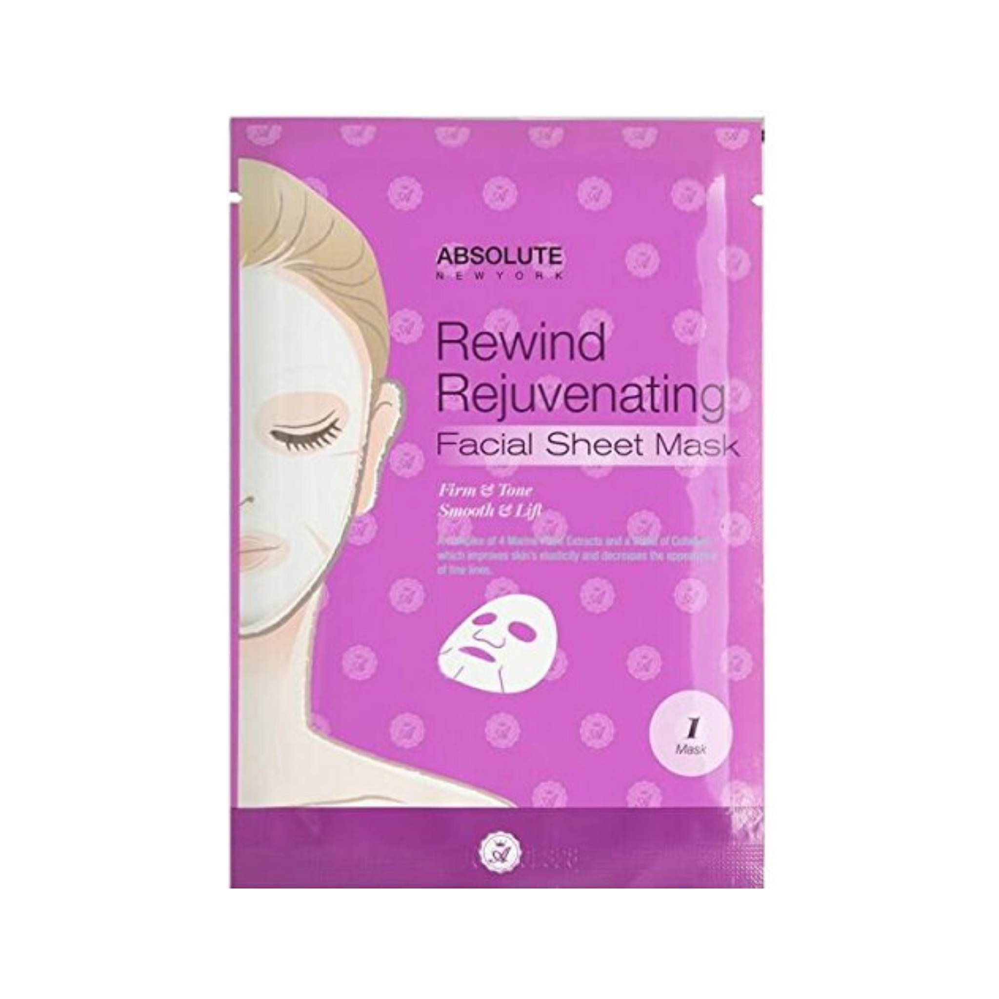 REWIND REJUVENATING FACIAL SHEET MASK