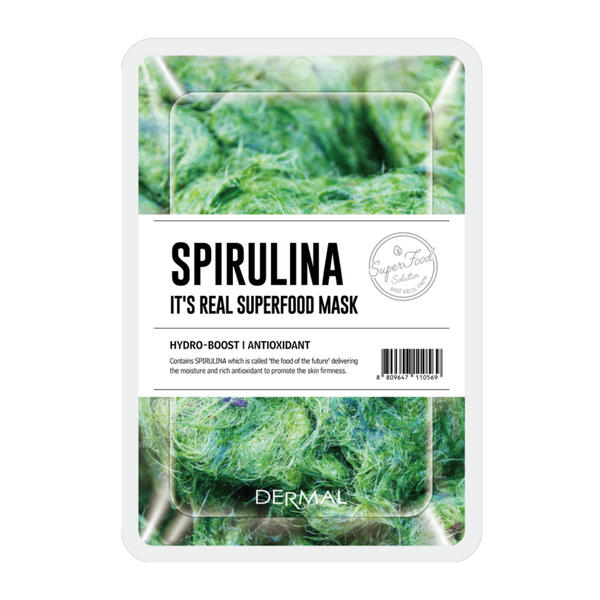 IT'S REAL SUPERFOOD MASK | SPIRULINA