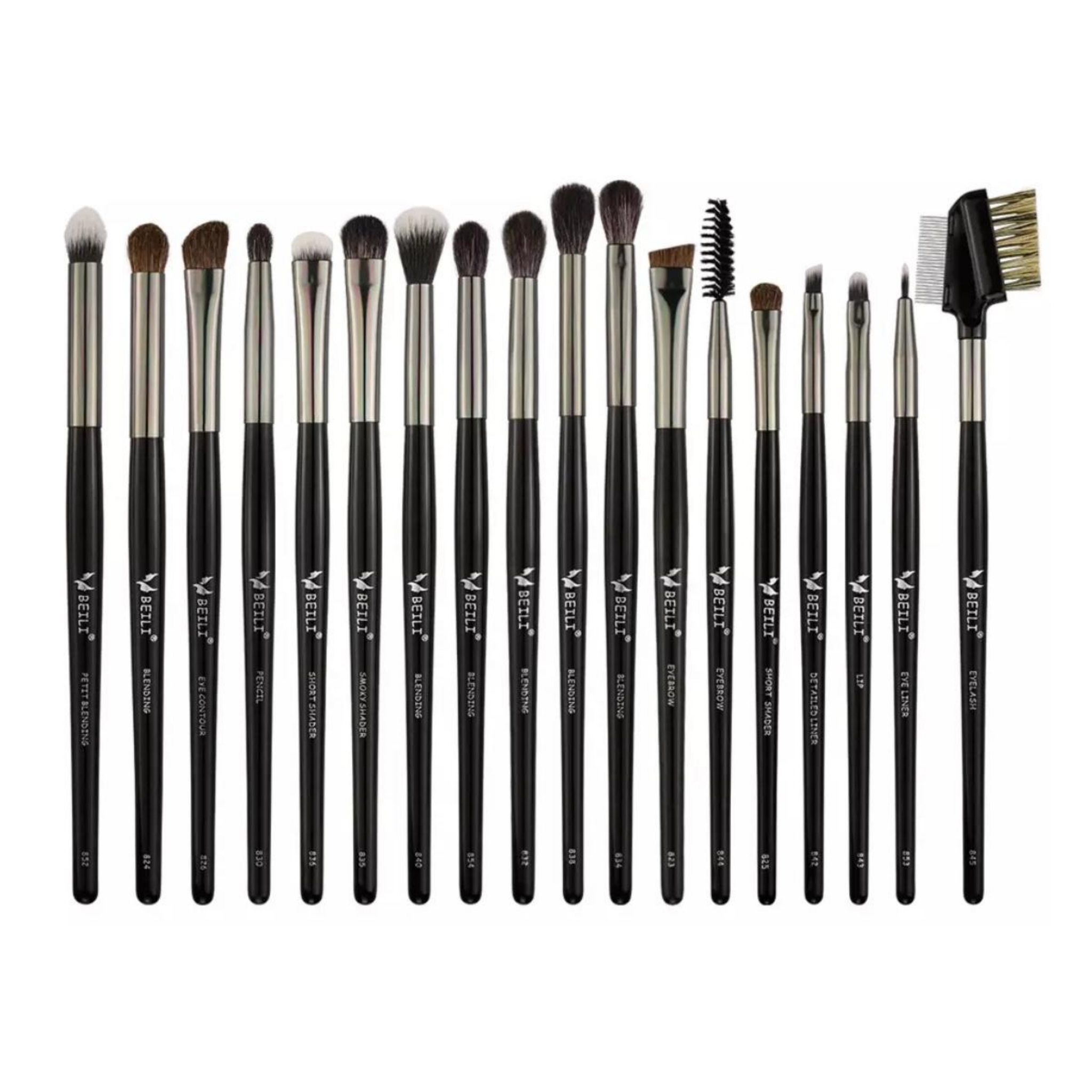 EYE BRUSH SET | BLACK