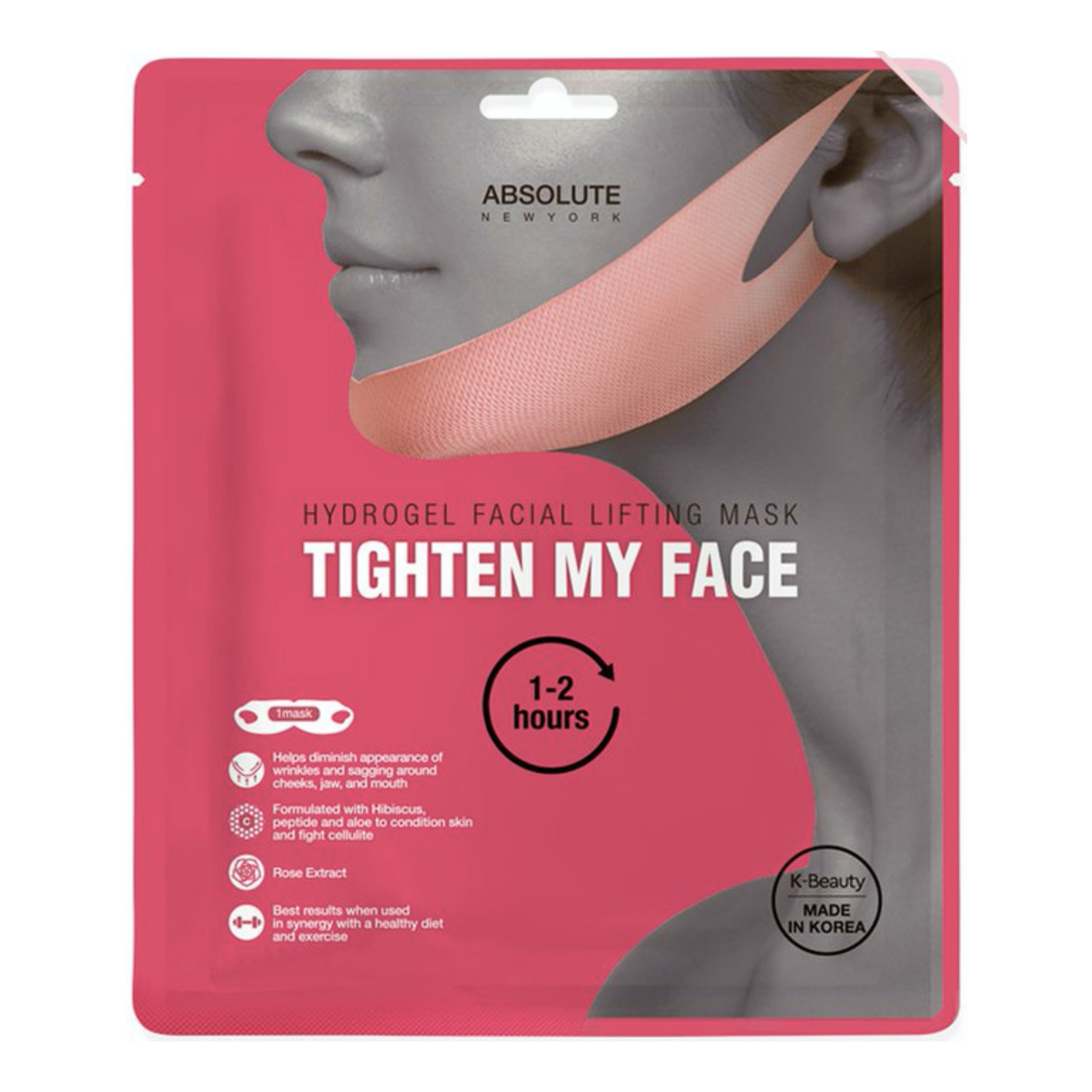 HYDROGEL FACIAL LIFTING MASK | TIGHTEN MY FACE