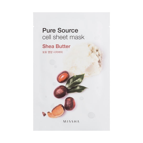 PURE SOURCE MASK- SHEA BUTTER