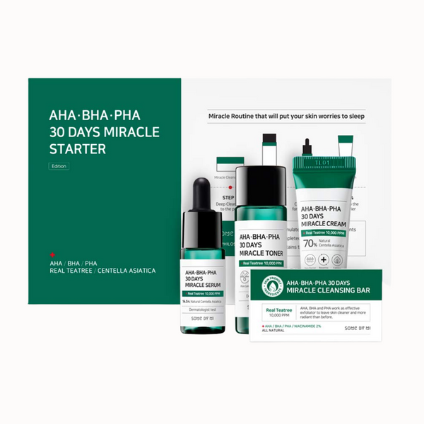 AHA-BHA-PHA 30 DAYS MIRACLE STARTER KIT