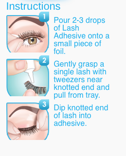 STRIPLASH ADHESIVE (CLEAR)