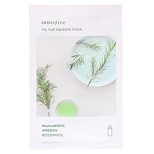 IT'S REAL SQUEEZE MASK- TEA TREE