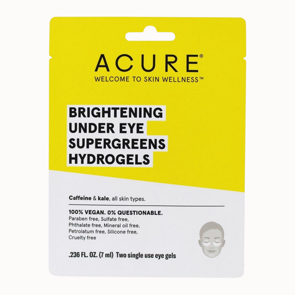 BRIGHTENING UNDER EYE SUPERGREENS HYDROGELS