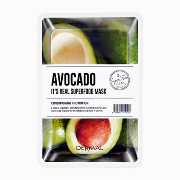 IT'S REAL SUPERFOOD MASK | AVOCADO