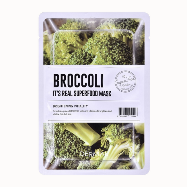 IT'S REAL SUPERFOOD MASK | BROCCOLI
