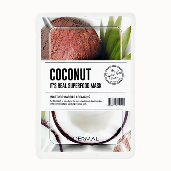 IT'S REAL SUPERFOOD MASK | COCONUT