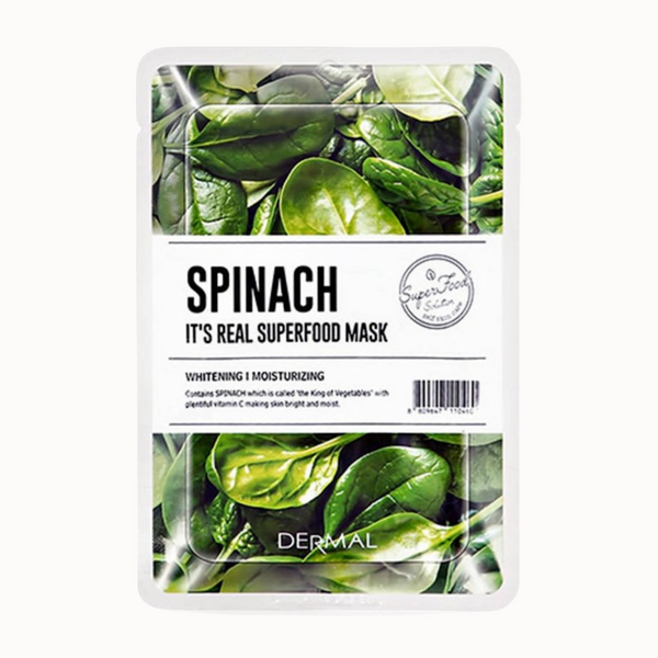 IT'S REAL SUPERFOOD MASK | SPINACH