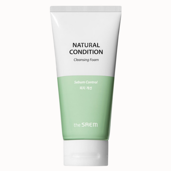 NATURAL CONDITION CLEANSING FOAM | SEBUM CONTROL