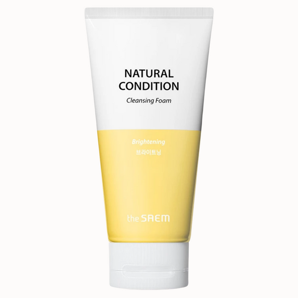 NATURAL CONDITION CLEANSING FOAM | BRIGHTENING