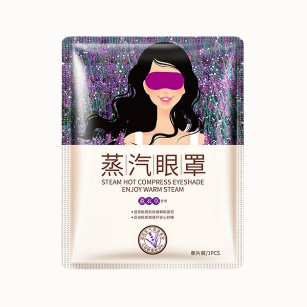 LAVENDER HOT COMPRESS EYE MASK