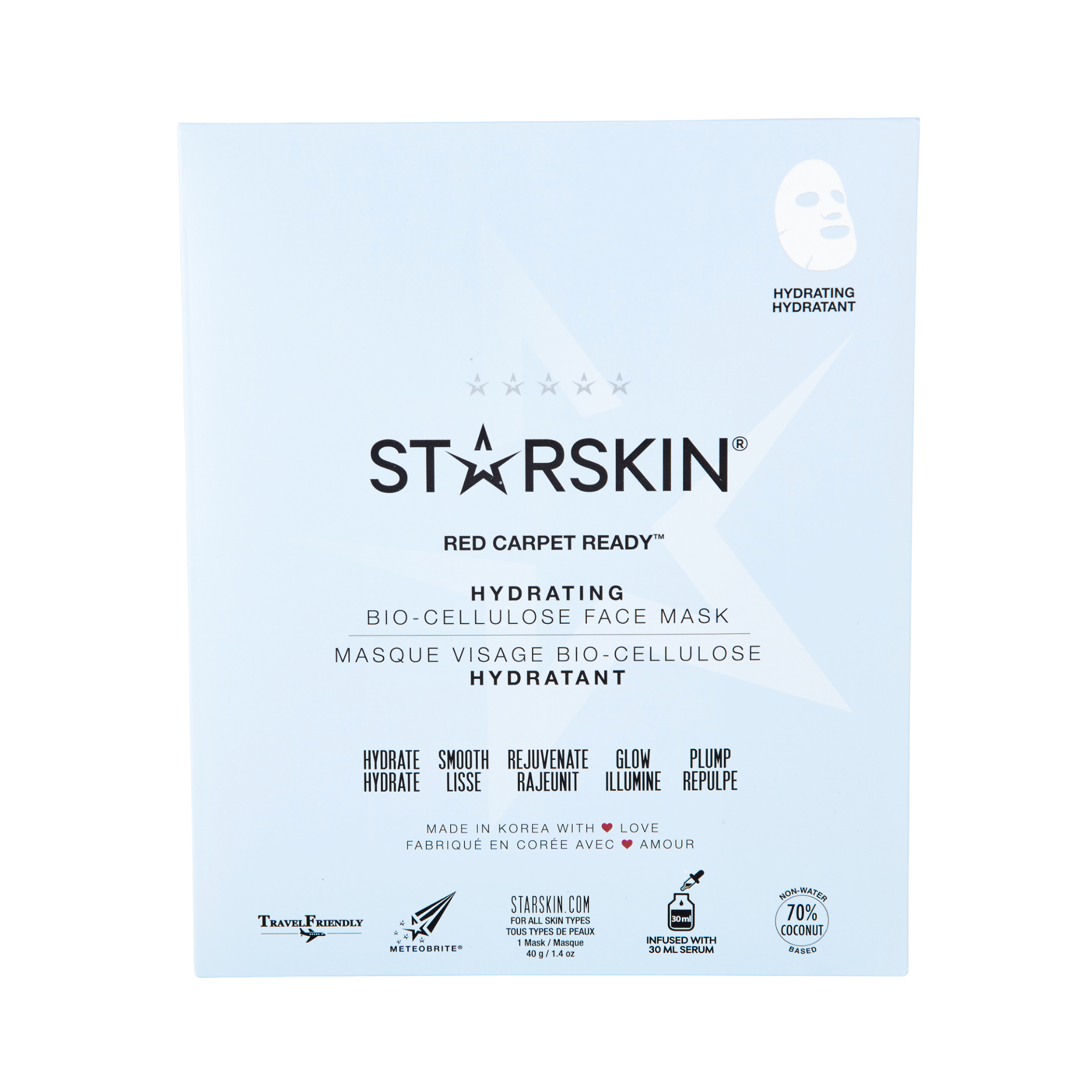 RED CARPET READY BIO CELLULOSE FACE MASK