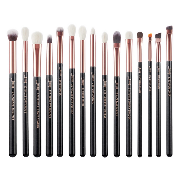 JESSUP -ROSE GOLD INDIVIDUAL BRUSH SET