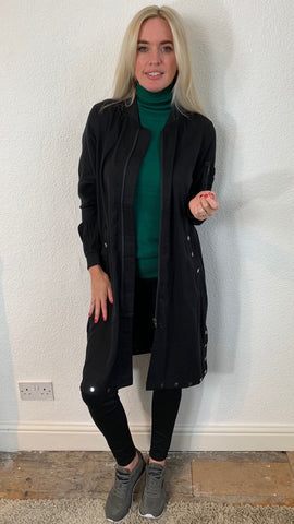 Nu Denmark Long Black Jacket