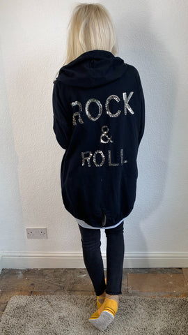 Rock & Roll Hooded Jacket