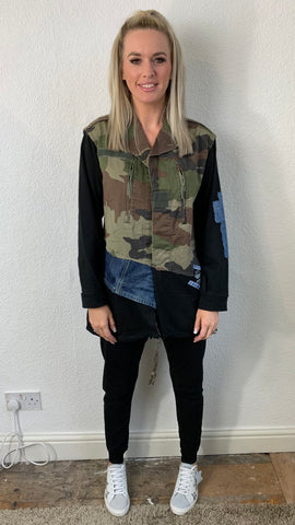 CAMO PATCH JACKET