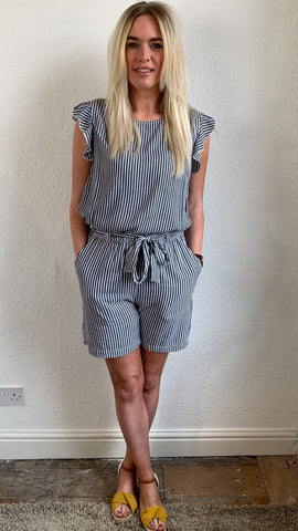 Saint Tropez Casual Striped Shorts