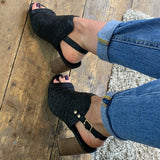 RAVEL CLIFTON HEELED SANDALS
