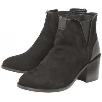 Ravel Hayden Black Ankle Boots