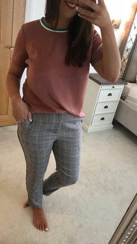 Sofie Schnoor Checked Trousers