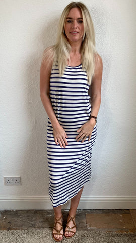 Saint Tropez Striped Tee Dress