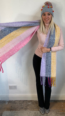 CALAIS PASTEL SUPERSOFT SCARF