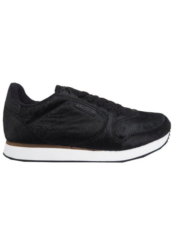 Woden Ydun II Pony Black Trainers