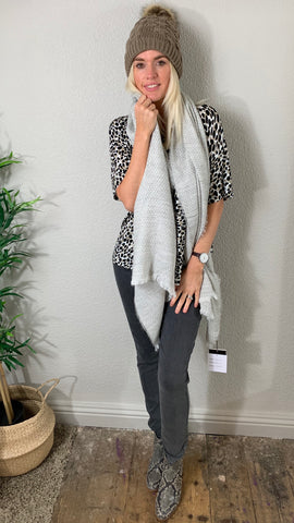 GREAT PLAINS TONAL JACQUARD SCARF