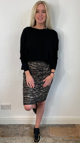 SOFIE SCHNOOR PENCIL SKIRT