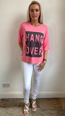 A Postcard From Brighton Hangover Placement Print Top