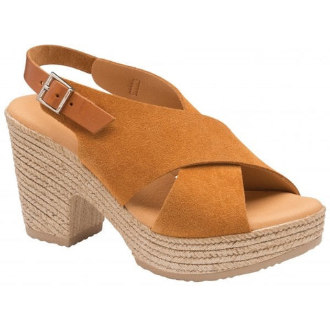 RAVEL YUNA SUEDE PEEP TOE SANDALS