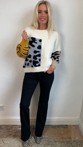 Animal Print Snuggle Jumper
