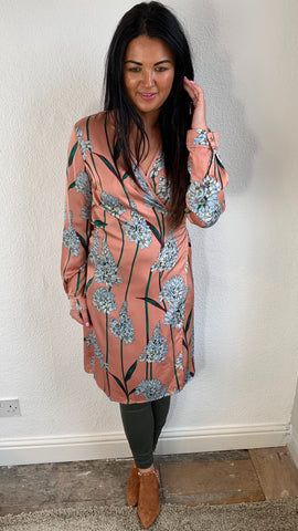Sofie Schnoor Floral Wrap Dress