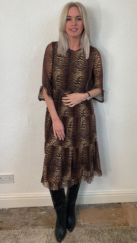 Sofie Schnoor Animal Print Dress