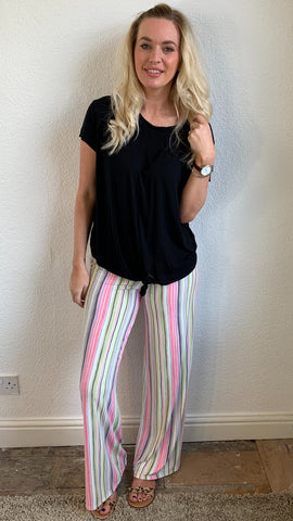 A Postcard from Brighton Stripe Pallazo Pant