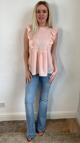 French Connection Frill Top